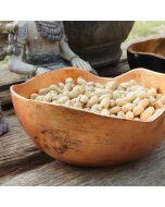 Sublime and Marvelous teak wooden bowl 25cm