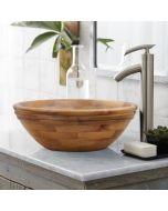 Teak Basin Round - Alta Small - Natural
