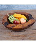 "Teak bowl ""Foggia"" 35cm"