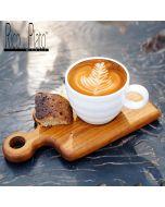 "Teak coffee cup server "" Onilemo"" (Set of 2)"