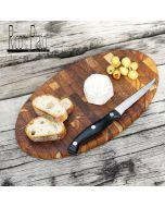 End grain choppingboard  'Cumin'