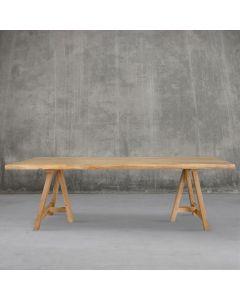 Teak reclaimed table 'Infinity' 300cm I Rico & Plato
