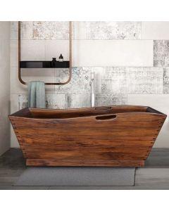 Bathtub kyoto mahogany