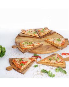 """Online Teak Serving Pizza Platter  ''Napoletana"""" I Rico & Plato"""