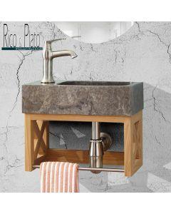 Washup 004 wall hung vanity