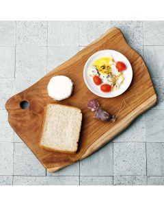 teak chopping and serving platter Antonio XL