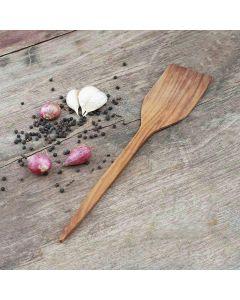 handgemaakte teakhouten spatel 34cm | Rico & Plato
