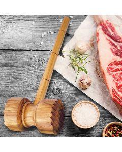 Wooden Meat Tenderiser Hammer I Rico & Plato